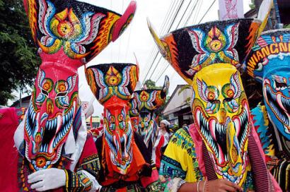 Hungry ghost masks
