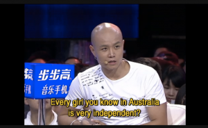 Chinese TV show host