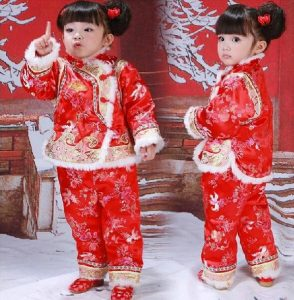free-shipping-christmas-kids-clothing-sets-baby-new-year-s-day-outfit-with-chinese-red-tang