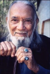 Ted Guboo, Australian Chief Elder of the Yuin Aboriginal Tribe