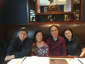 First chinese teacher at ACCS